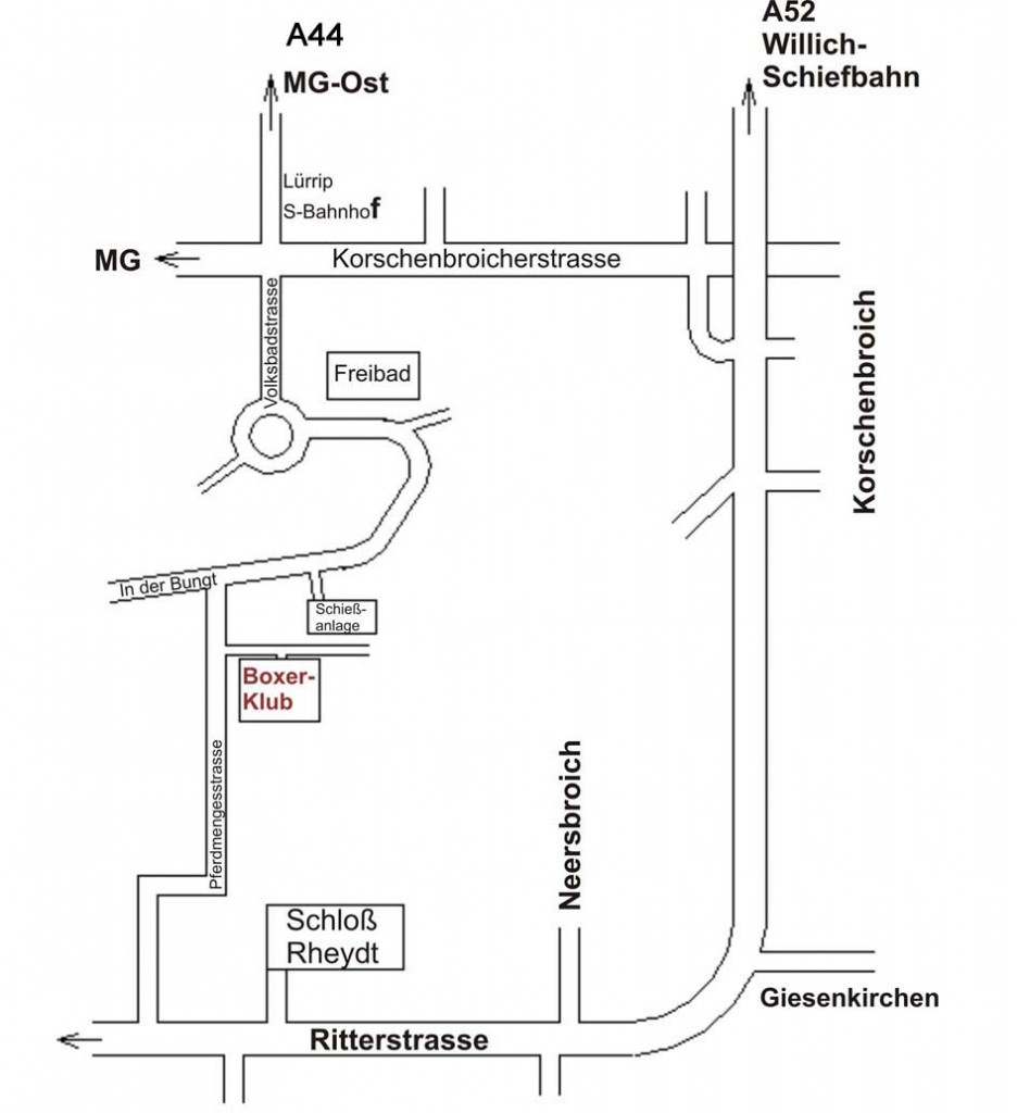 Kontaktanfahrt Boxer Klub Mönchengladbach Boxer Klub
